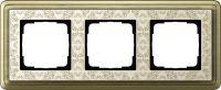 Установочная рамка Gira ClassiX Art Бронза-кремовый