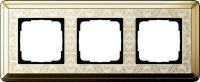 Установочная рамка Gira ClassiX Art латунь-кремовый
