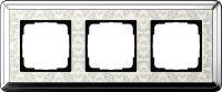 Установочная рамка Gira ClassiX Art хром-кремовый