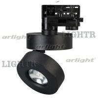 Светильник LGD-MONA-TRACK-4TR-R100-12W Warm3000 (BK, 24 deg)