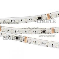 Лента DMX-5000SE-5060-60 24V Cx6 RGB (12mm, 14.4W/m, IP65)