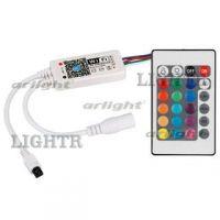 Контроллер LN-WIFI-IR24B-2 (12V, 96W, ПДУ 24кн, RGBW)