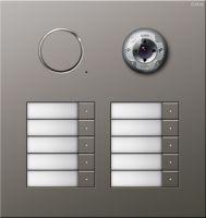 Дверная видеостанция Edelstahl 10-местн.