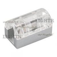 Соединитель прямой ARL-CLEAR-U15-Line (26x15mm)