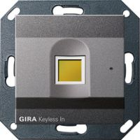 Биометрический кодовый замок Gira Keyless In