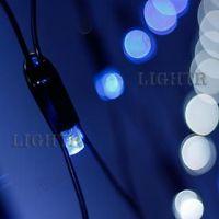 Светодиодная гирлянда ARD-NETLIGHT-CLASSIC-2500x2500-BLACK-432LED White/синий (230V, 26W)