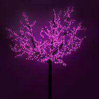 Светодиодное дерево ARD-CHERRY-PRO2-2.4M-1728LED Pink (220V, 210W)