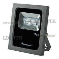 Светодиодный прожектор AR-FLG-FLAT-10W-220V синий