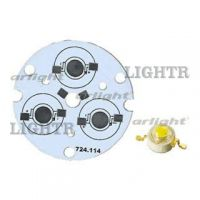 Плата D44-3E MONO Emitter (3x LED, 724-114)