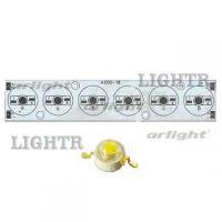 Плата 156x30-6Е-RGB Emitter (6x LED, A.000-18)