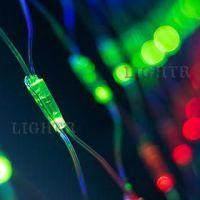 Светодиодная гирлянда ARD-NETLIGHT-CLASSIC-2000x1500-CLEAR-288LED RGB (230V, 18W)