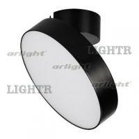 Светильник SP-RONDO-FLAP-R250-30W Warm3000 (BK, 110 deg)