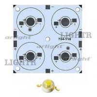 Плата 50x50-4E MONO Emitter (4x LED, 724-118)