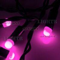 Гирлянда ARL-BULLET-5000-50LED Pink (220V, 5W)