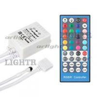 Контроллер LN-IR40B-2 (RGBW,12-24V,96-192W, ПДУ 40кн)