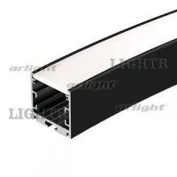 Профиль SL-ARC-3535-D1500-A90 BLACK (1180мм, дуга 1 из 4)