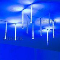 Светодиодная гирлянда ARD-ICEFALL-CLASSIC-D12-200-10PCS-CLEAR-32LED-LIVE синий (230V, 10.5W)