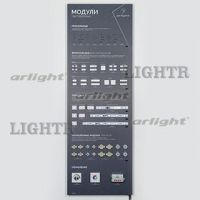 Стенд Светодиодные модули