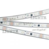 Лента SPI-5000PGS-5060-30 12V Cx3 RGB-Auto (12mm, 6.5W/m, IP67)