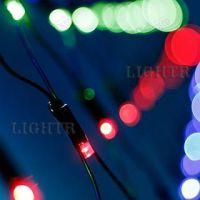 Светодиодная гирлянда ARD-NETLIGHT-CLASSIC-2500x2500-BLACK-432LED RGB (230V, 26W)
