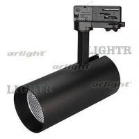 Светильник SP-POLO-TRACK-LEG-R85-15W Warm3000 (BK-BK, 40 deg)