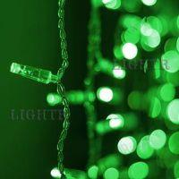 Светодиодная гирлянда ARD-CURTAIN-CLASSIC-2000x3000-CLEAR-760LED зеленый (230V, 60W)