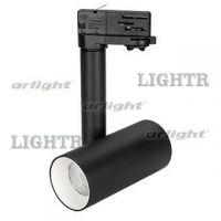 Светильник SP-POLO-TRACK-PIPE-R65-8W Warm3000 (BK-WH, 40 deg)