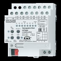 KNX актуатор отопления, 6 групп