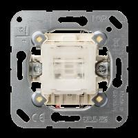 JUNG Выключатель 10AX 250V кнопочный, универсальный