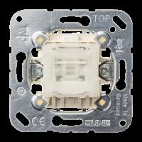 JUNG Выключатель 10AX 250V кнопочный перекрестный
