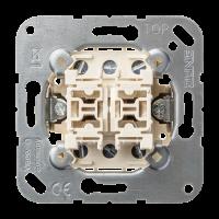 JUNG Выключатель 20AХ 250V универсальный сдвоенный