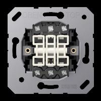 3-gang switch insert 10 AX / 250 V ~