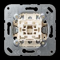 JUNG Кнопка двухполюсная с переключающими контактами