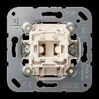 JUNG Кнопка однополюсная с НО контактом и отдельным сигнальным контактом