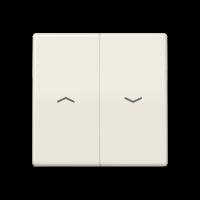 JUNG Клавиши для выключателя управления жалюзи; слоновая кость