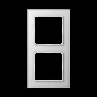 JUNG Рамка 2-кратная; белая