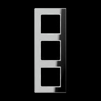 JUNG Рамка 3-кратная; серебро