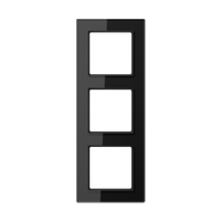 JUNG Рамка 3-кратная; черная