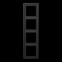 Рамка для вертикальной и горизонтальной установки;dark (алюминий лакиров.)