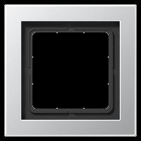 JUNG Рамка 1-кратная; алюминий