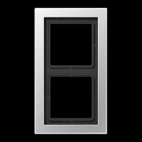 JUNG Рамка 2-кратная; алюминий
