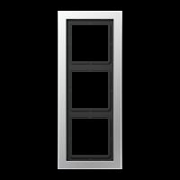 JUNG Рамка 3-кратная; алюминий