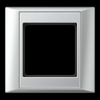 JUNG Рамка 1-кратная для серии Aplus; алюминий