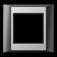 JUNG Рамка 1-кратная для серии Aplus; антрацит-алюминий