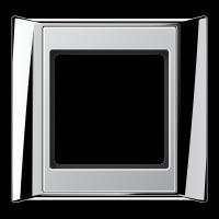 JUNG Рамка 1-кратная для серии Aplus; полированный хром-алюминий