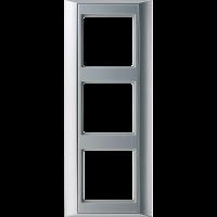 JUNG Рамка 3-кратная для серии Aplus; алюминий