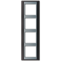 JUNG Рамка 4-кратная для серии Aplus; антрацит-алюминий