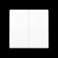 JUNG Клавиши для сдвоенного выключателя; белые