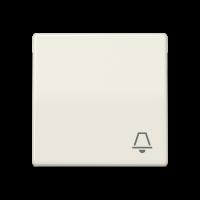 """JUNG Клавиша для выключателя с символом """"звонок""""; слоновая кость"""