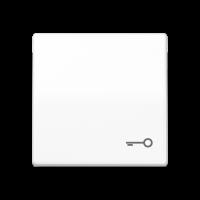 """JUNG Клавиша для выключателя с символом """"замок""""; белая"""